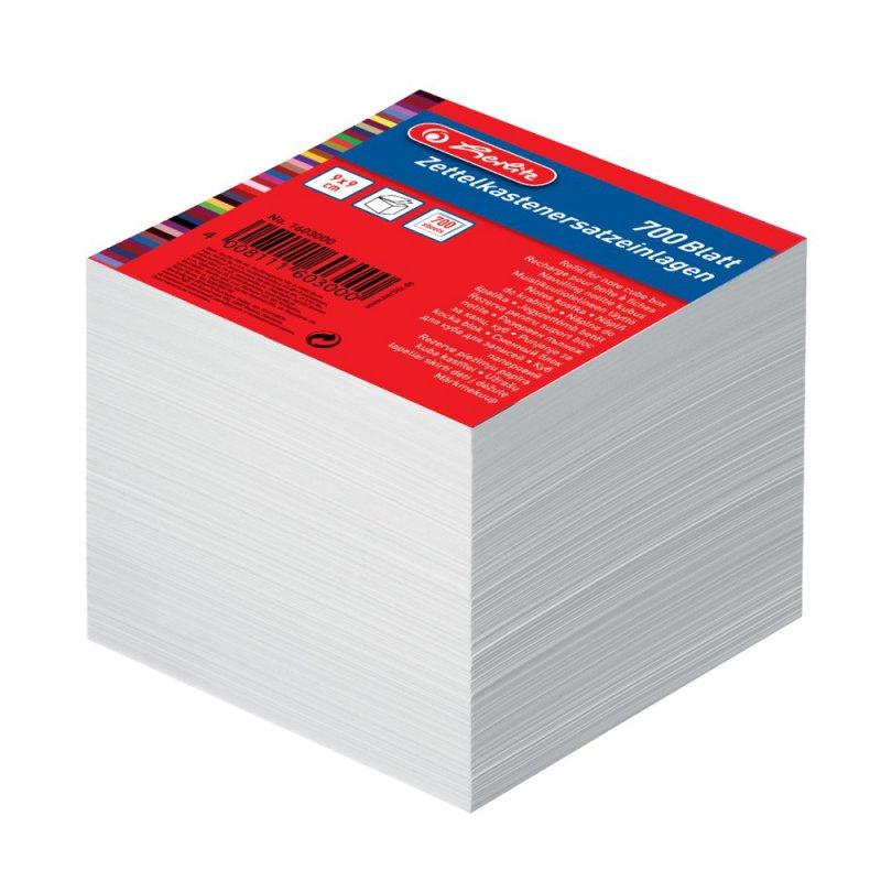 Ανταλλακτικά Χαρτάκια Σημειώσεων Herlitz (9x9cm 700φ)