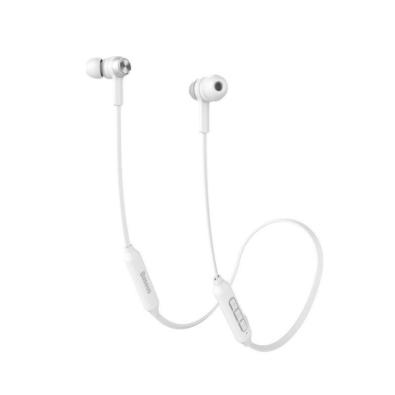 Ακουστικά Baseus Encok S06 In-ear Bluetooth Handsfree Λευκά (NGS06-A02) (BASNGS06-A02)