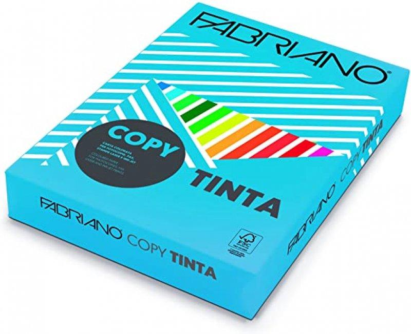 Χαρτί Εκτύπωσης Fabriano Tinta A4 80 500 φ. FG Strong Αζούρ