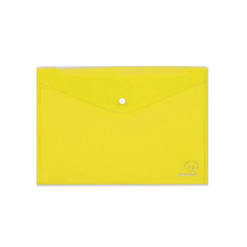 Φάκελος Με Κουμπί TypoTrust Α4 Κίτρινο