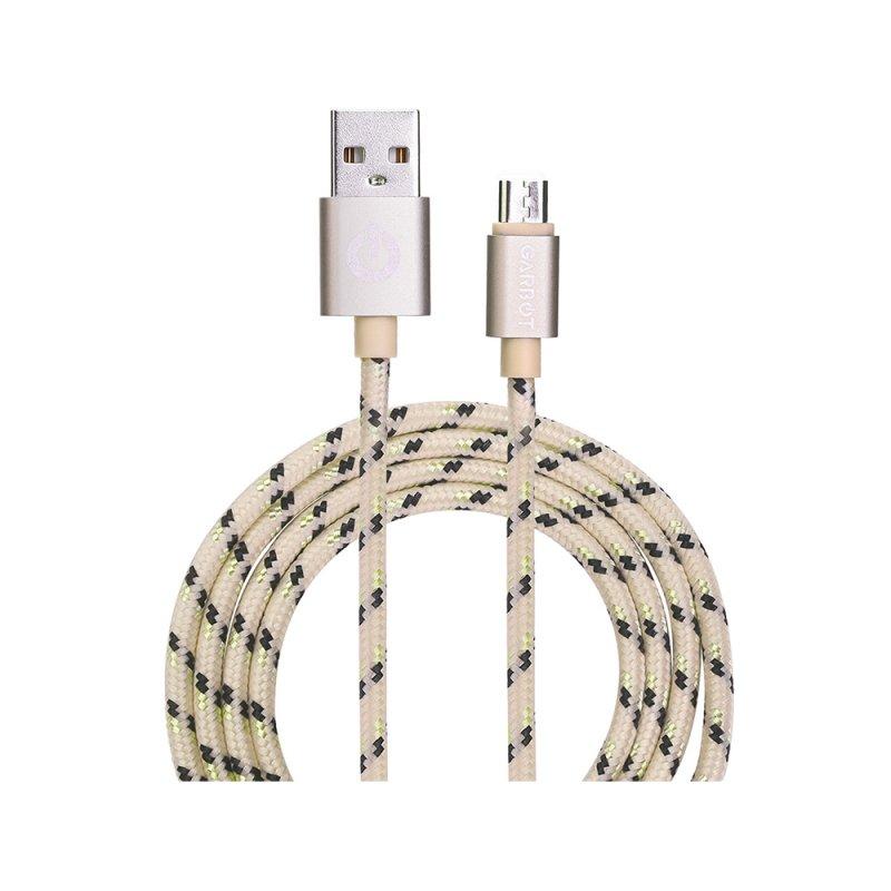Καλώδιο USB Garbot Grab&Go 1 m USB A Micro-USB B Χρυσό (C-05-10194) (GARC-05-10194)