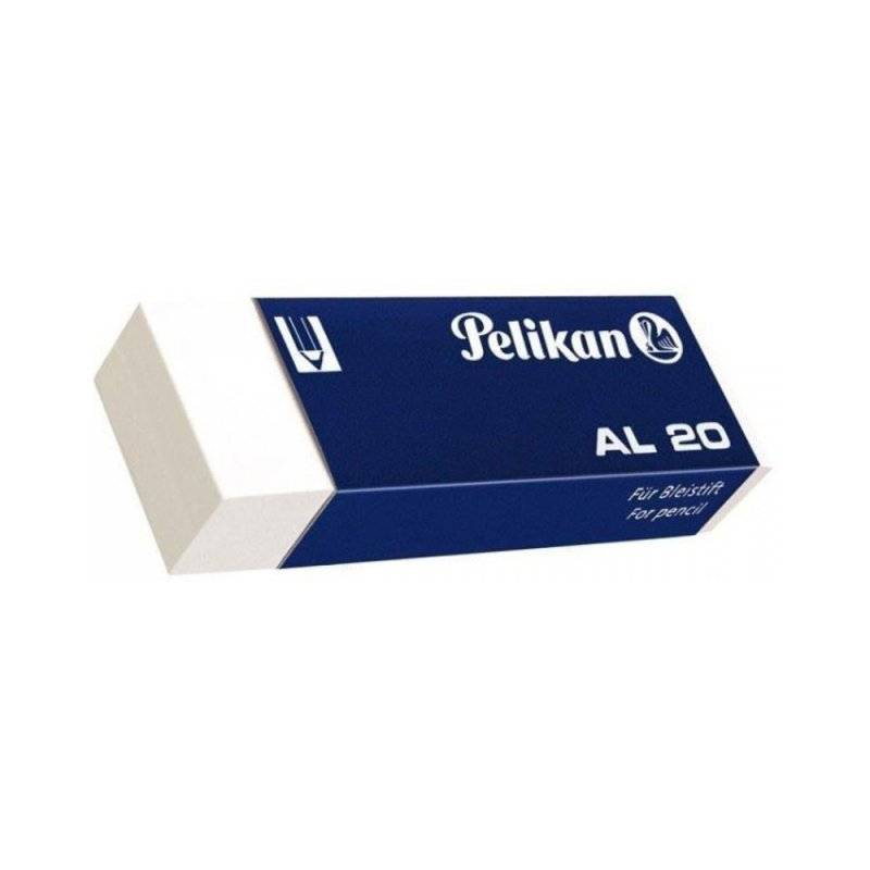 Γόμα Pelikan AL 20 Λευκό