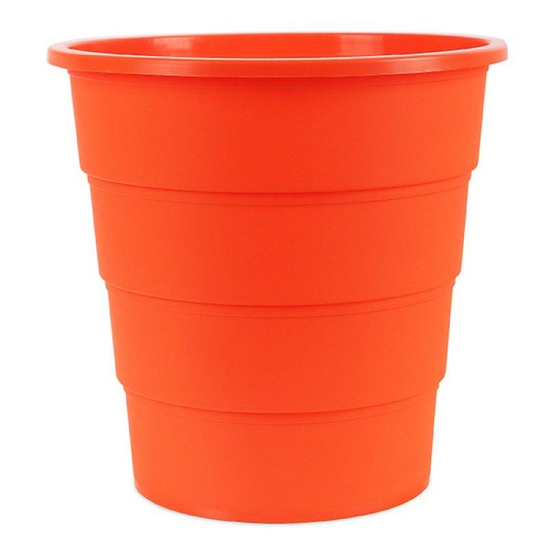Κάδος Αχρήστων Office Products, Τύπος Κουβά, 16L Πορτοκαλί