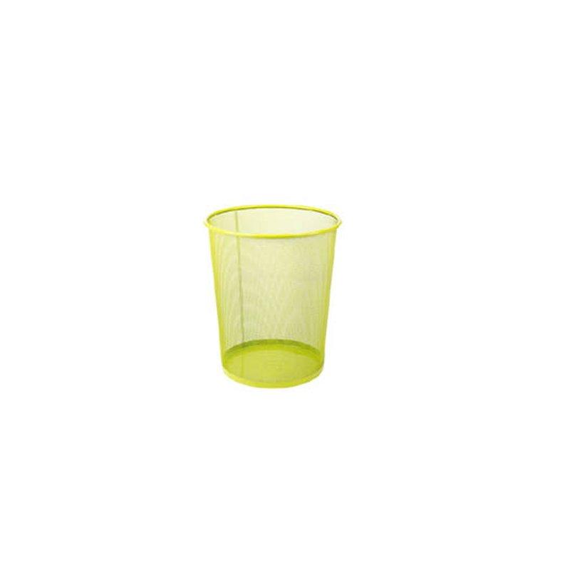 Καλάθι Αχρήστων Μεταλλικό Χρωματιστό 081509 Λαχανί