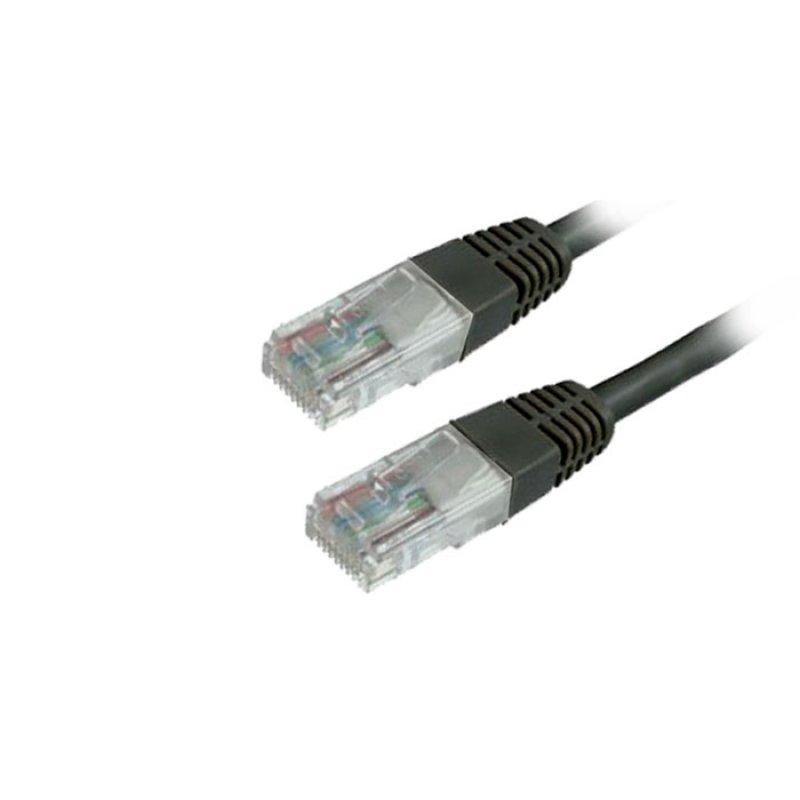 Καλώδιο Δικτύου UTP MediaRange CAT 6 RJ45/RJ45 1.0M Μαύρο (MRCS119)