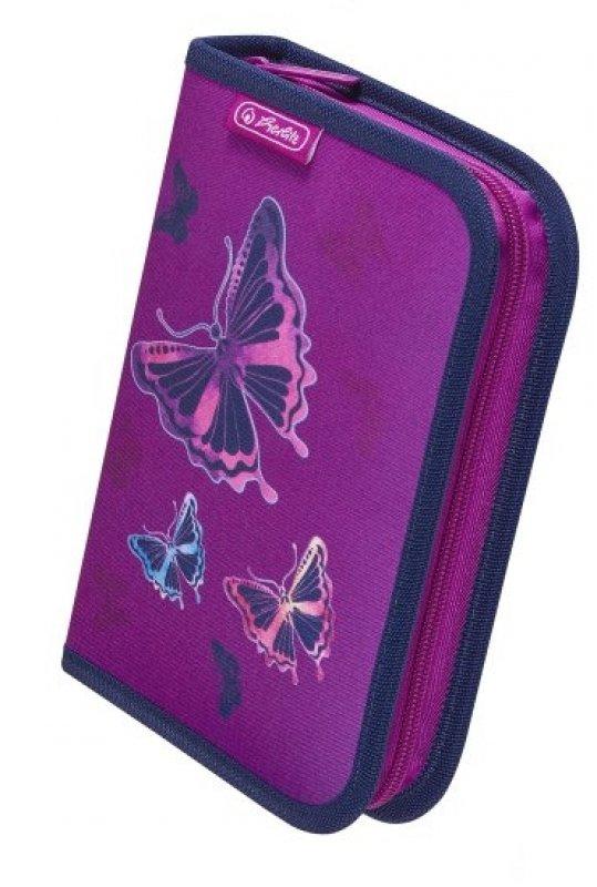 Κασετίνα Κενή Herlitz 50020805 Glitter Butterfly