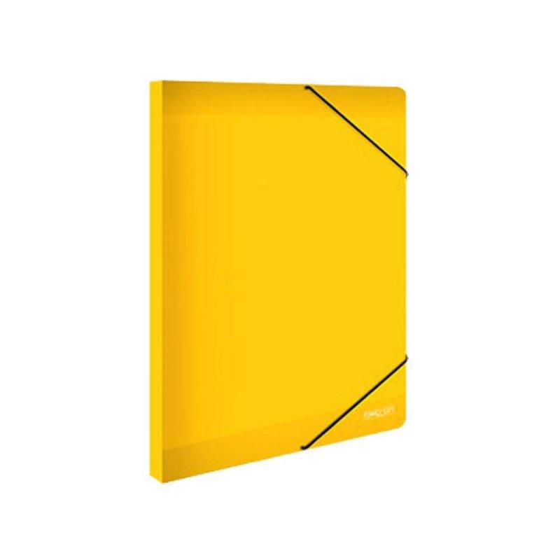 Κουτί Με Λάστιχο Metron Κίτρινο 25x35cm 05536