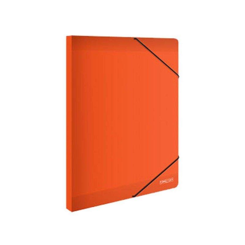 Κουτί Με Λάστιχο Metron Πορτοκαλί 25x35cm 05537