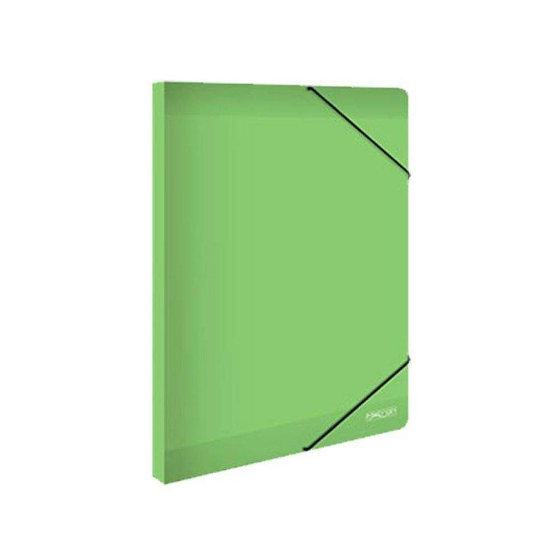 Κουτί Με Λάστιχο Metron Πράσινο 25x35cm 05539
