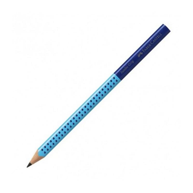 Μολύβι Ξύλινο  Faber Castell Jumbo Grip Μπλε