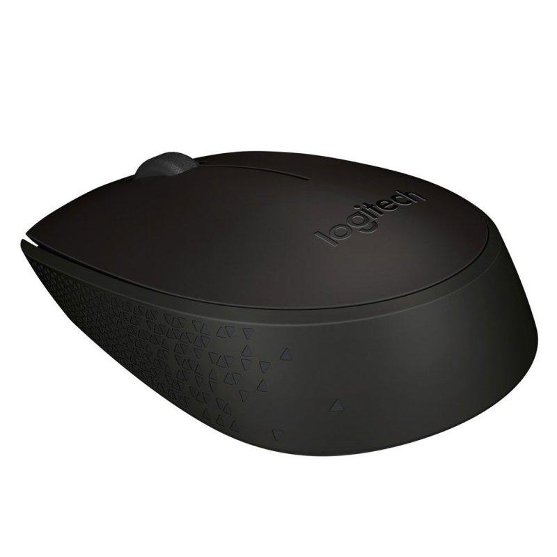 Ποντίκι Οπτικό Ασύρματο Logitech B170 Μάυρο (LOGB170BLK)