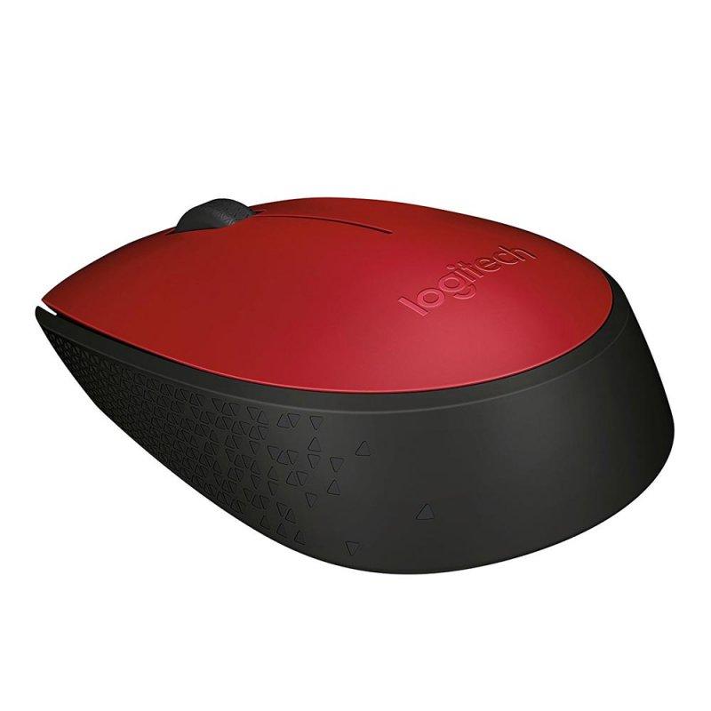 Ποντίκι Ασύρματο Logitech M171 Κόκκινο (910-004641) (LOGM171RED)