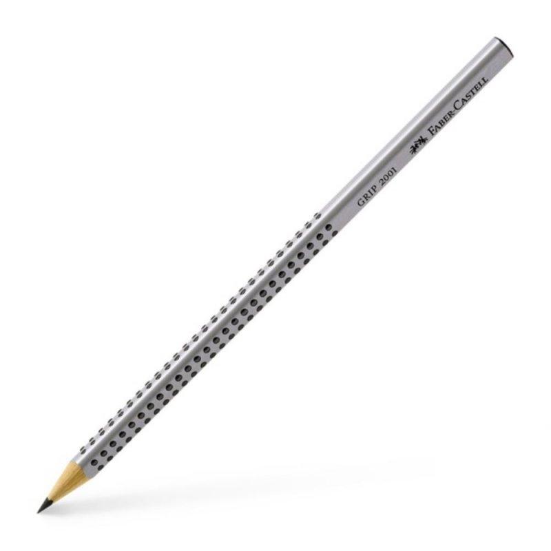 Μολύβι Faber-Castell Grip 2001 HB Γκρι