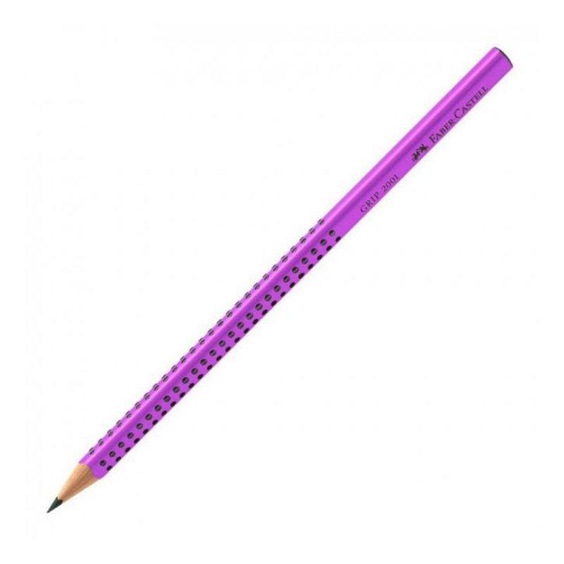 Μολύβι Faber-Castell Grip 2001 HB Λιλά
