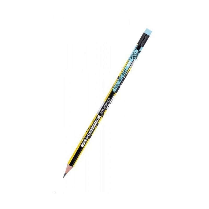 Μολύβι Ξύλινο Με Γόμα Deli Arti Graft 2Β