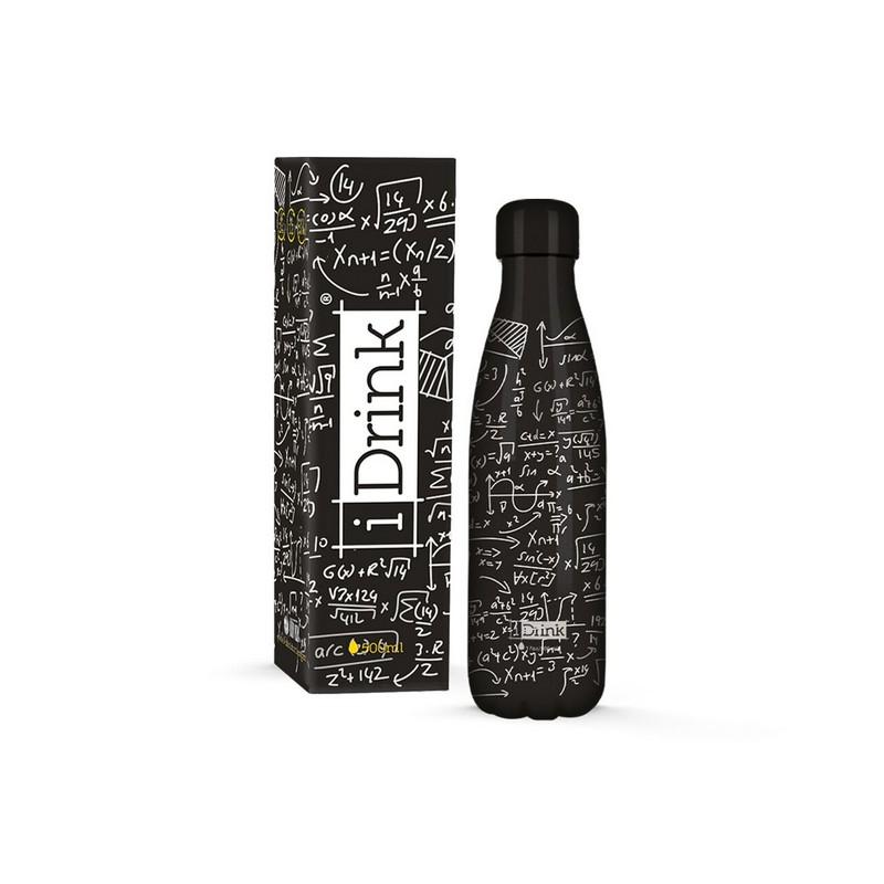 Μπουκάλι iDrink Glow In The Dark Με Αριθμούς 500ml