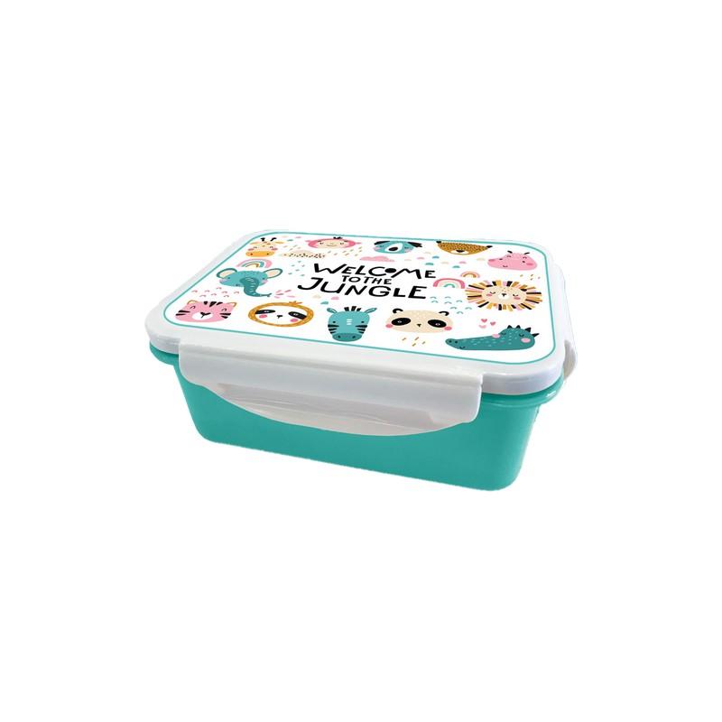 Παιδικό Δοχείο Φαγητού iDrink Με Σχέδιο Ζούγκλα 2004