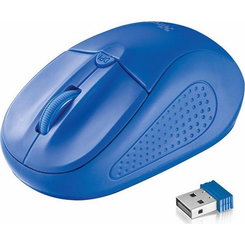 Ποντίκι Ασύρματο Trust Primo Μπλε 2078609