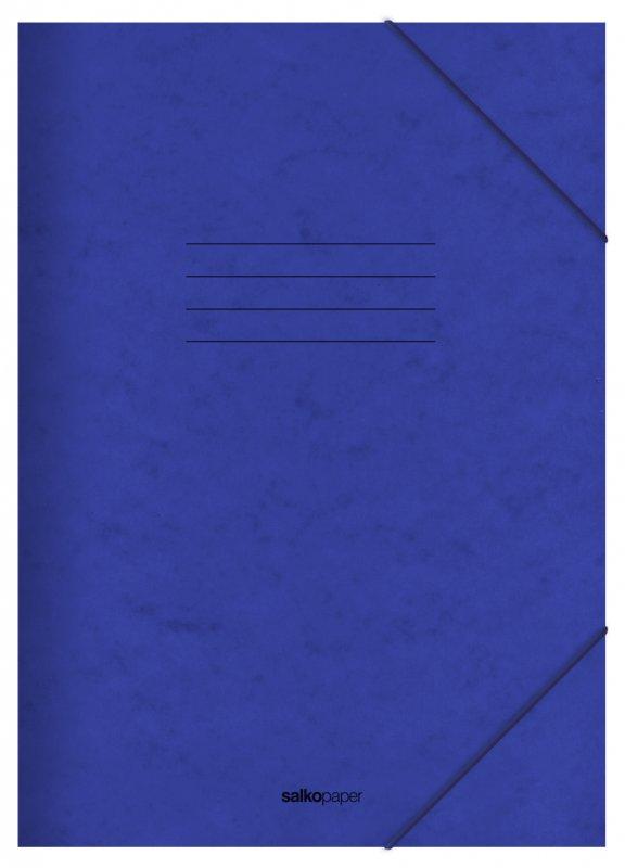 Φάκελος με Λάστιχο Prespan Salko Μπλε 2523
