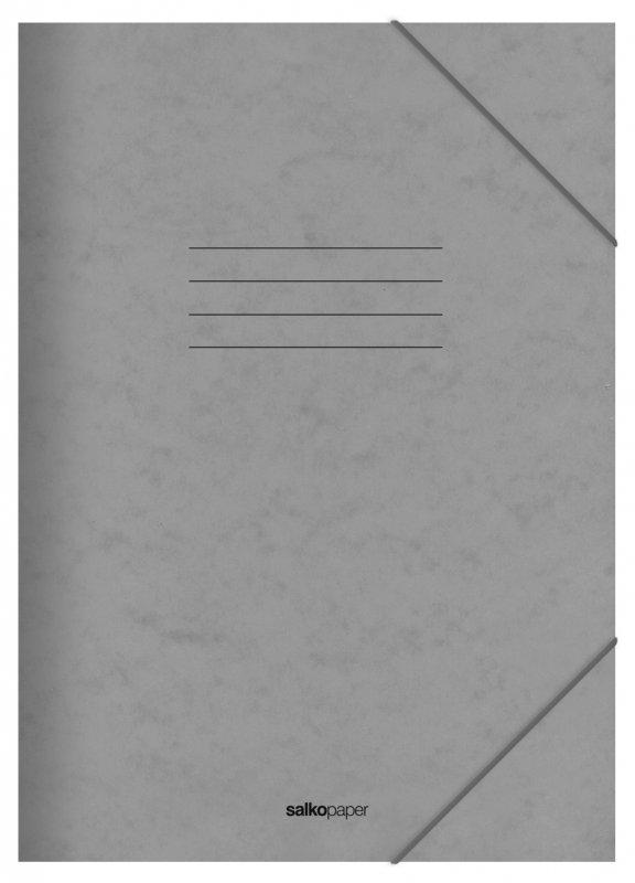 Φάκελος με Λάστιχο Prespan Salko Γκρι 2532