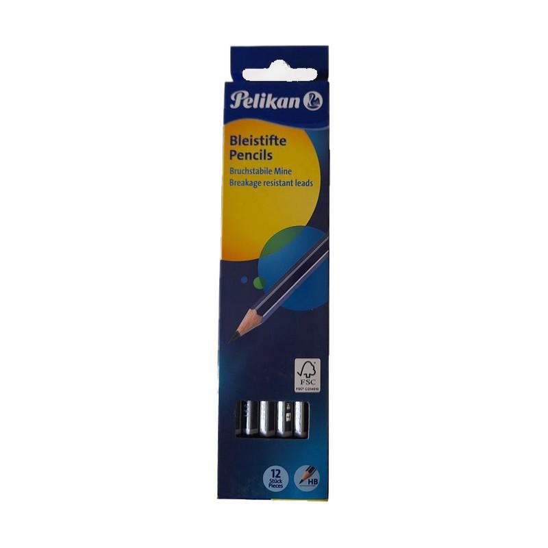 Σετ Μολύβια Pelikan Μπλε HB 12τμχ 9789322