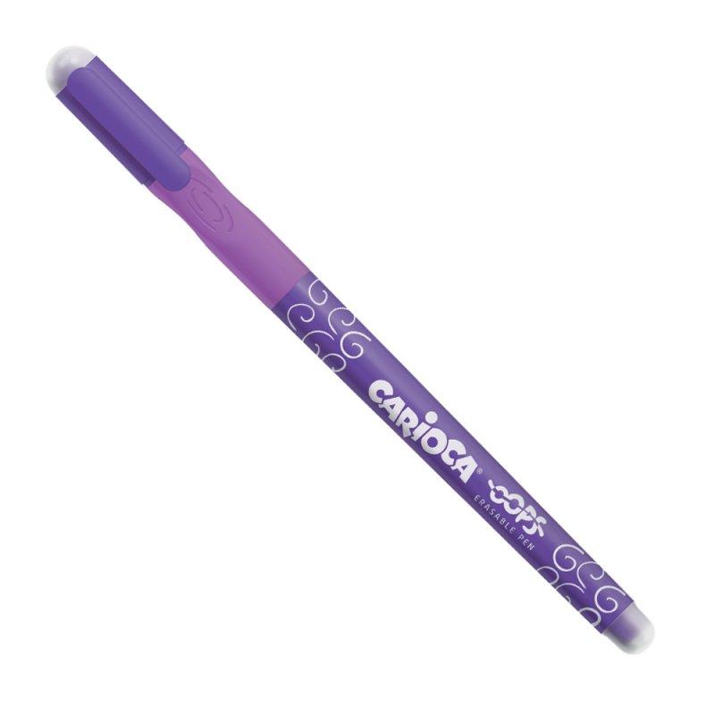 Στυλό Carioca Oops (με μελάνι που σβήνει) Μωβ