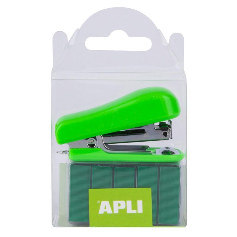 Συρραπτικό Τσέπης Apli Με 2000 Σύρματα Πράσινο 14942