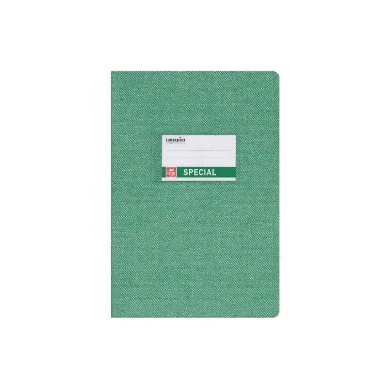 Τετράδιο TypoTrust Special Jeans Ριγέ Πράσινο Β5 (50Φ)
