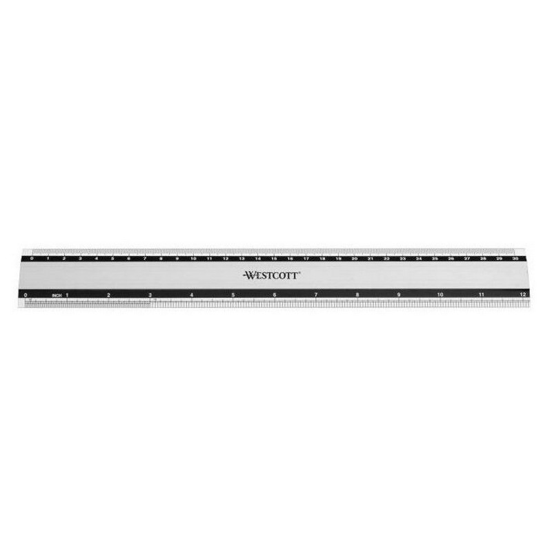 Χάρακας Westcott Μεταλλικός E-10191 30cm