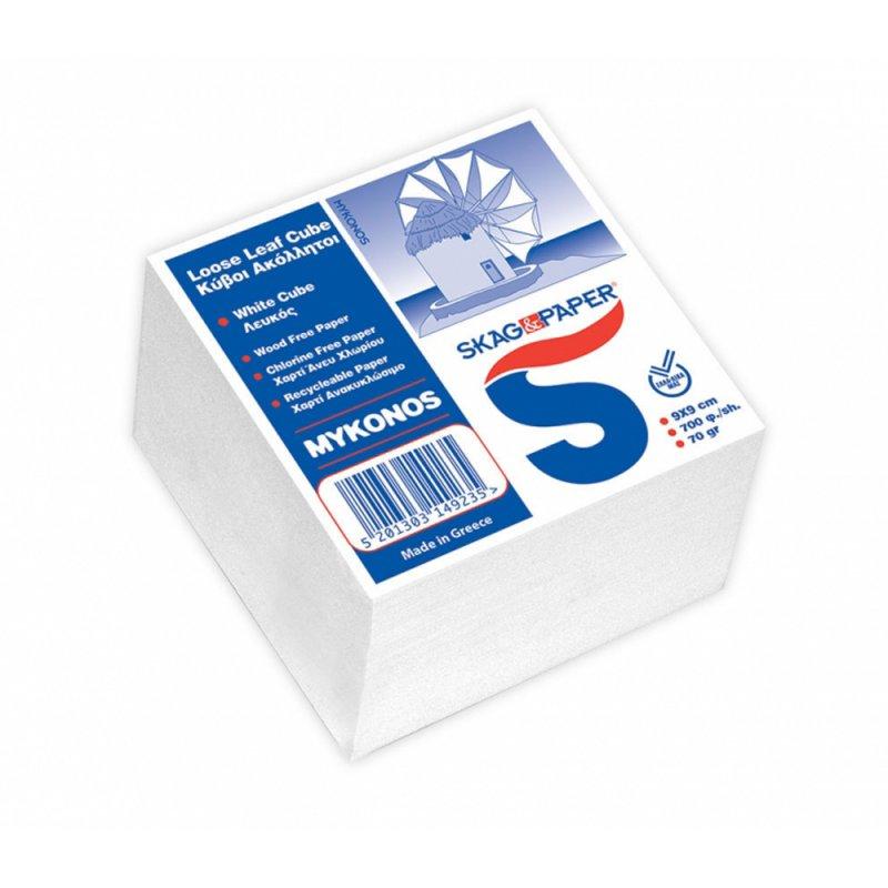 Χαρτάκια Ανταλλακτικά Skag Λεύκα (9x9cm)