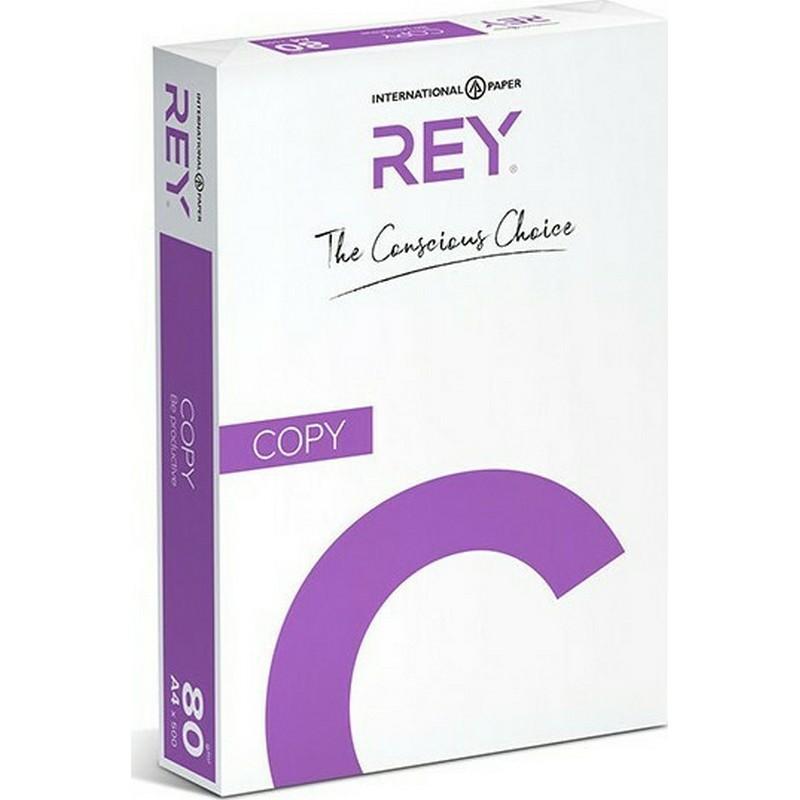 Χαρτί Εκτύπωσης Rey Copy A4 80 Λευκό (500Φ)