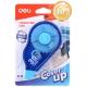 Διορθωτική Ταινία Deli Correction Tape H21301 5mmx30m - 5