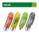 Διορθωτική Ταινία Plumote Correction Tape Oval QCR-506 Πράσινο 12m