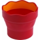 Πτυσσόμενο Δοχείο Ακουαρέλας Faber-Castell Κόκκινο 181517 - 3