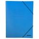Ντοσιέ Με Λάστιχο Prespan Premium Μπλε 12803 (25 x 35 cm)