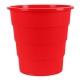 Κάδος Αχρήστων Office Products, Τύπος Κουβά, 16L Κόκκινο