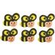 Ξύλινες Μέλισσες Junior Art School 6τμχ 137211