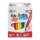 Μαρκαδόροι Carioca Joy 12 Χρωμάτων Λεπτοί