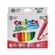 Μαρκαδόροι Carioca Jumbo 12 Χρωμάτων Χονδροί