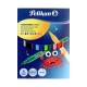 Μαρκαδόροι Pelikan Colorella Star Με Λεπτή Μύτη 12 Χρωμάτων 000730