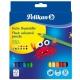 Ξυλομπογιες Χοντρες Τριγωνικες Pelikan Jumbo 12 Χρωματα (700160)