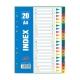 Πλαστικό Διαχωριστικό Θεμάτων Index Α4