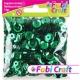 Πούλιες Στρογγυλές Fabi Craft Σε Πράσινο Χρώμα 6mm 130317