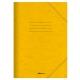 Φάκελος με Λάστιχο Prespan Salko Κίτρινο 2522