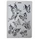 Stencil Πλαστικό Next Με Σχέδιο Πεταλούδες Α4 27746 (7τμχ)