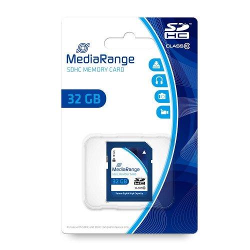 Κάρτα Μνήμης MediaRange SDHC Class 10 32 GB (High Capacity) (MR964)