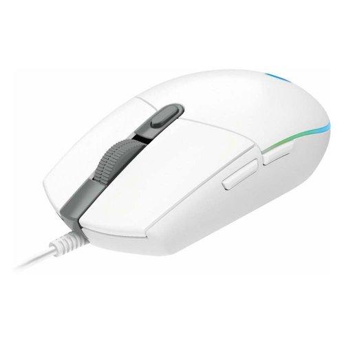 Ποντίκι Gaming Logitech G102 Lightsync Λευκό (910-005824) (LOGG102WH)