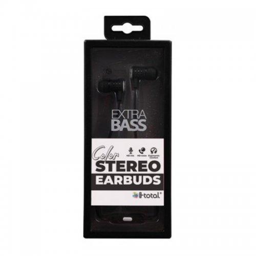 Ακουστικά i-total Stereo Earbuds (σε Διάφορα Χρώματα) - 2