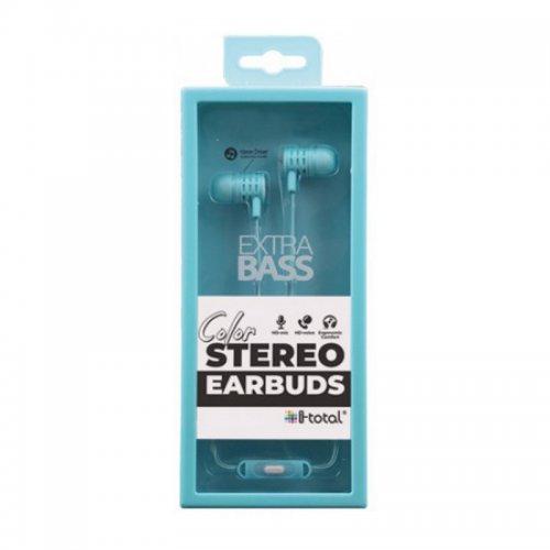 Ακουστικά i-total Stereo Earbuds (σε Διάφορα Χρώματα) - 3
