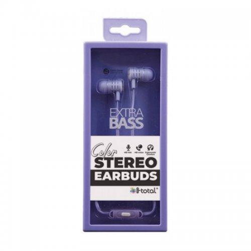 Ακουστικά i-total Stereo Earbuds (σε Διάφορα Χρώματα) - 5